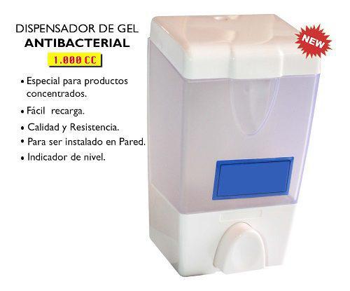 Dispensador de gel antibacterial 1.000cc
