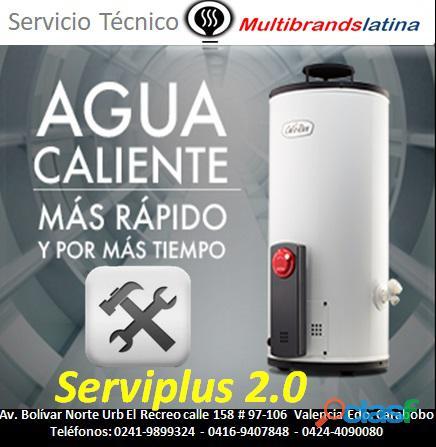Servicio tecnico de reparacion calentador de agua