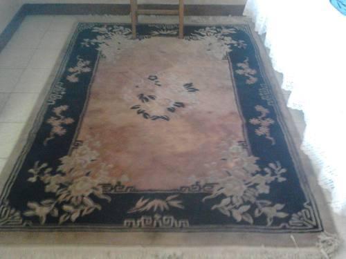 2 alfombras chinas de lana