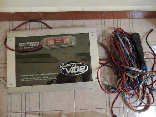 Amplificador lanzar vive 1000 watts con cornetas y cables
