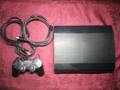 Ps3 super slim 500gb caja juegos c hip