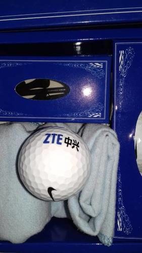 Articulos de golf pelotas estuche zte a estrenar