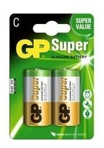 Pila bateria alcalina c gp jueguetes linterna x2 blister