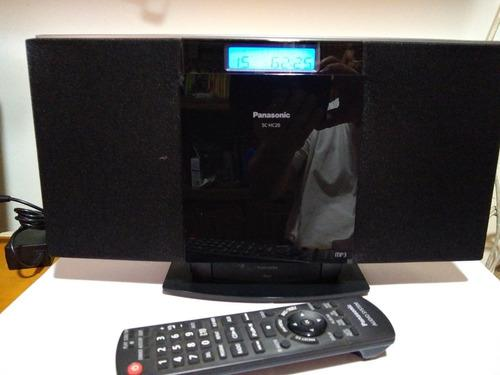 Reproductor panasonic sc-hc20 (cd/mp3/ radio/ ipod / aux)