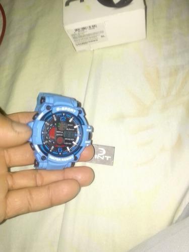 Vendo reloj deportivo contra agua 10verdes bello nuevo