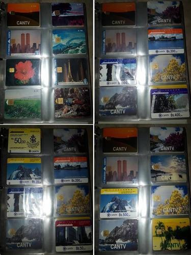 Colección de tarjetas telefónicas cantv 100vds