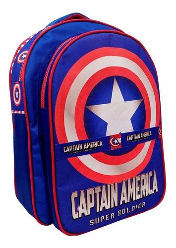 Morrales escolares xl capitan america superman spiderman