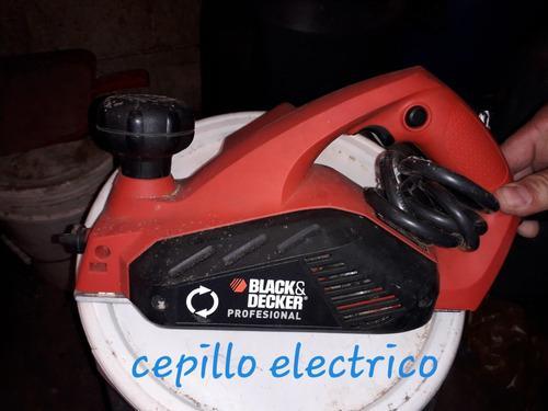 Cepillo eléctrico profesional para carpintería