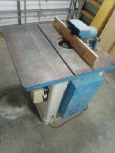 Trompo de banco industrial de carpinteria (holytek) 3 hp