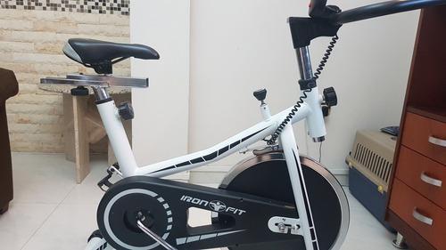 Bicicleta spinning iron fit