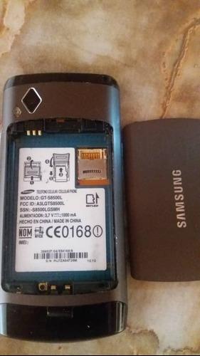 Tlf samsung, gt-s8500l, en perfecto estado le falta batería