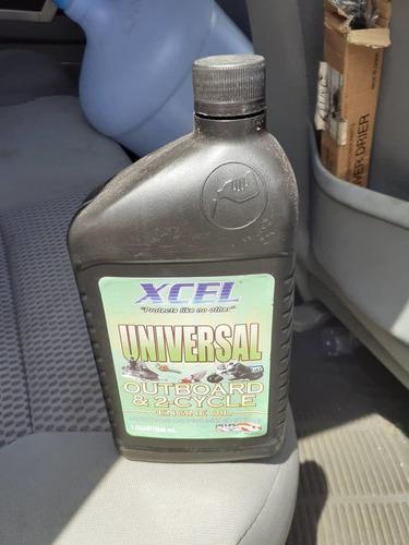 Aceite motor fuera de borda y motos, 2tiempos universal caja