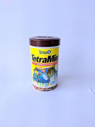 Alimento Peces Hojuelas Tetra Min Tropical Flakes 62gr
