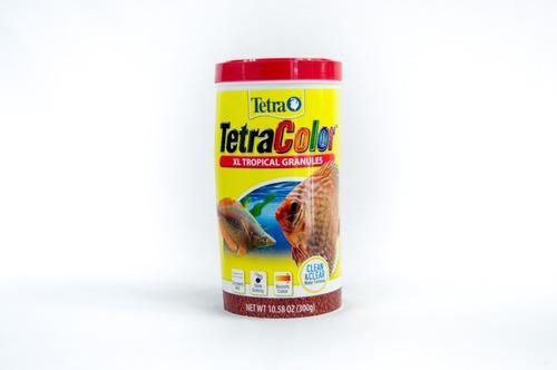 Alimento Peces Tetra Color Tropical Granules 300gr Acuarios