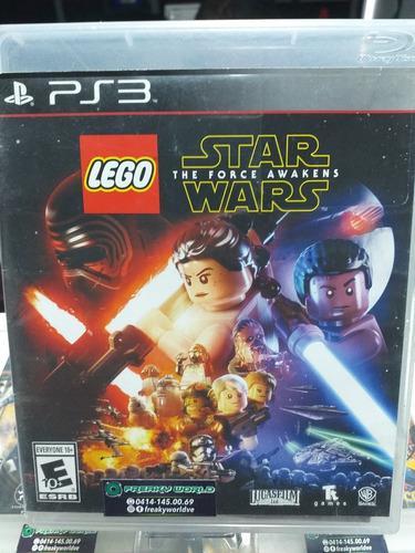 Juegos ps3 lego star wars the force awakens somos tienda