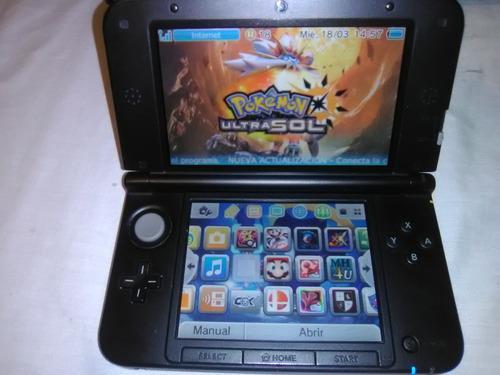 Nintendo 3ds xl +25 juegos