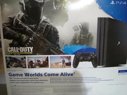 Playstation 4 ps4 pro 1tb call of duty en 320t