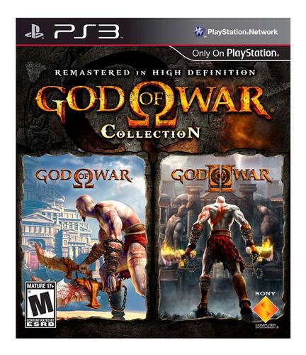 Ps3 god of war collection playstation 3 nuevo