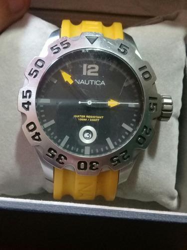 Reloj nautica modelo n 14604g totalmente original (55)