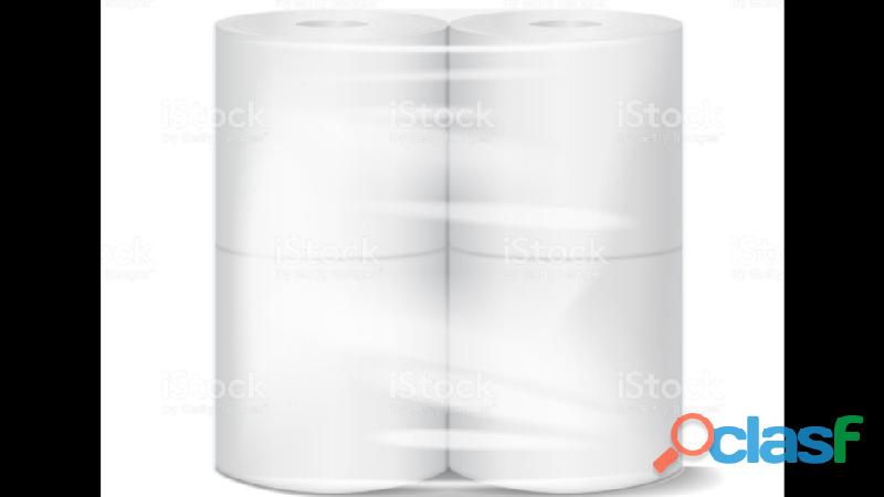 Ventas al mayor de papel higiénico , y servilletas , color blanco , son importadas
