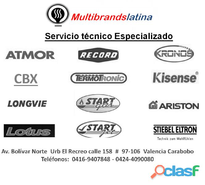 Multibrands Latina Servicio Técnico, Especialistas en Calentadores de Agua en Valencia 12