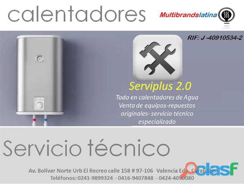 Multibrands Latina Servicio Técnico, Especialistas en Calentadores de Agua en Valencia 1