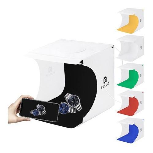 Mini estudio fotografico caja luz puluz