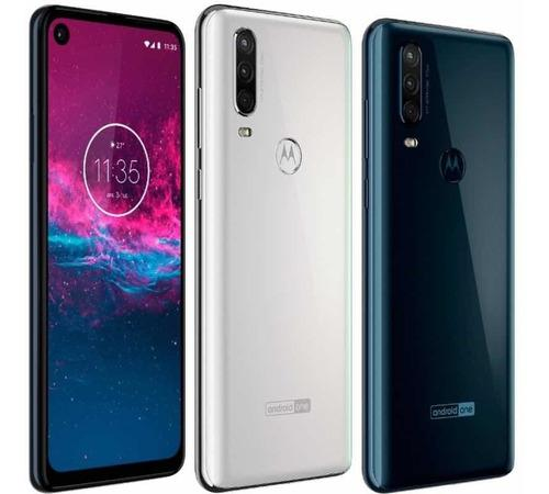 Motorola moto one action memoria 128gb + 4gb rom lte. 278v