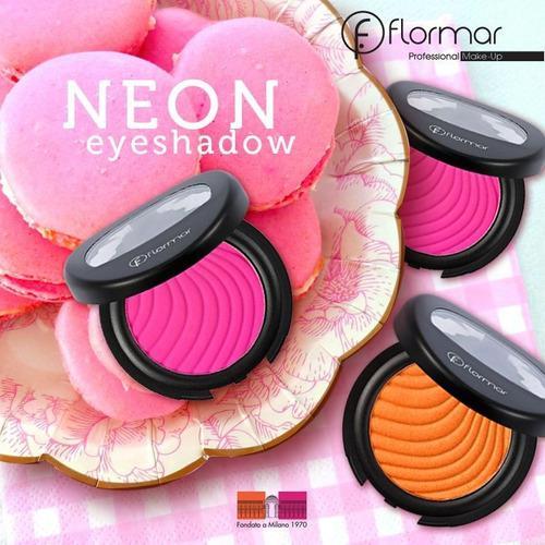 Sombra De Ojos Flormar Neon Eye Shadow