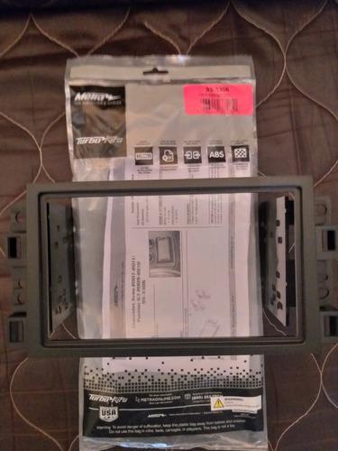 Adaptador reproductor 2 dim din aveo 2004-2008 lt ls ref18