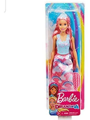 Barbie Dreamtopia Princesa Cabello Extralargo, Orig Mattel