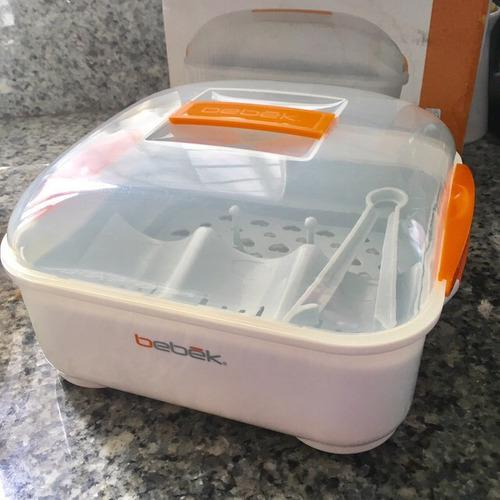 Esterilizador de teteros para microondas bebek