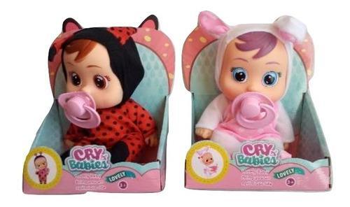Muñecas Cry Babies Ellas Son Dotty Nala Y Lady Niñas