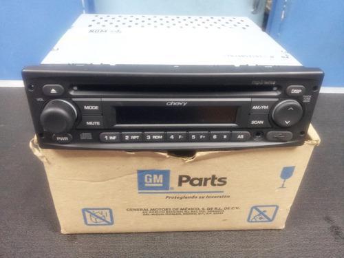 Radio reproductor cd mp3 usb chevy