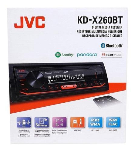 Radio reproductor jvc multimedia spotify bluetooth 13 bandas