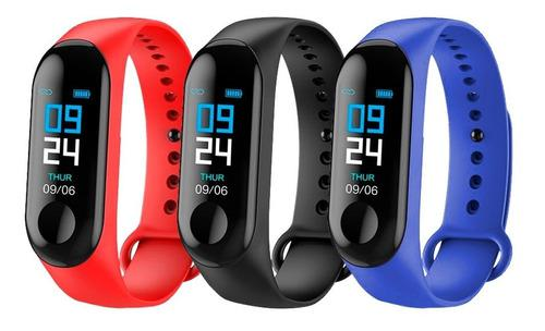 Reloj inteligente pulsera smart watch m3 fitnes android ios