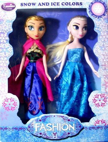Set de muñecas frozen ana elsa 2 cajas por precio publicado