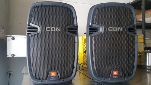 Cornetas Jbl Eon 510. Amplificadas