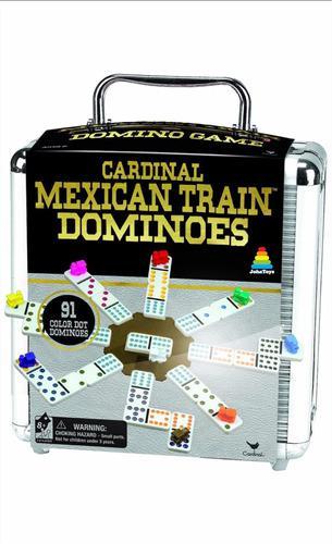Juego tren mexicano o mexican train doble 12 original