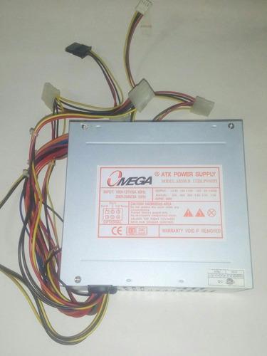 Fuente De Poder Para Pc 550 W 110 V 220v Usada Para Reparar