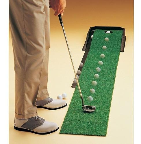 Golf sistema automático para practicar putting en su casa