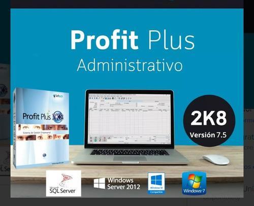 Licencia e instalacion profit plus 2k8 admin. version 7.5