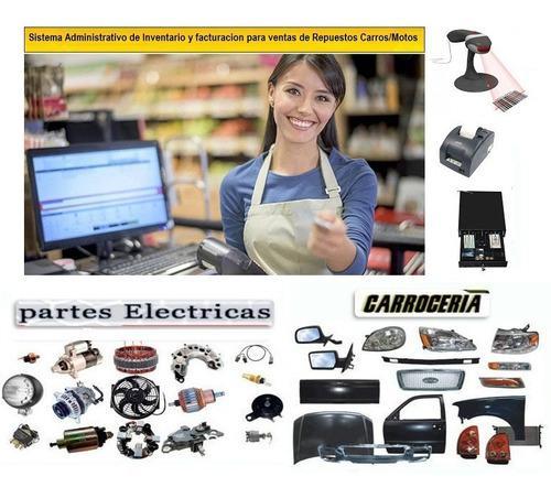 Sistema administrativo facturacion para ventas de repuestos