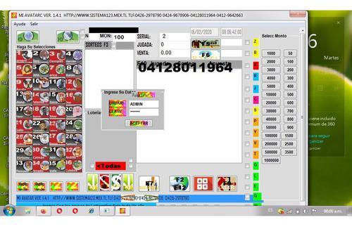 Sistemas sotfware programa de animalitos loterias parley
