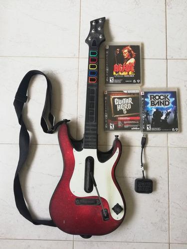 Guitarra Ps3 Guitar Hero Original