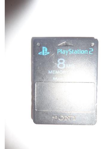 Memory Card 8mb Playstation 2 Oiginal
