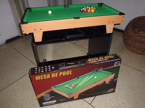 Mesa de pool jeidy toys nueva!!!