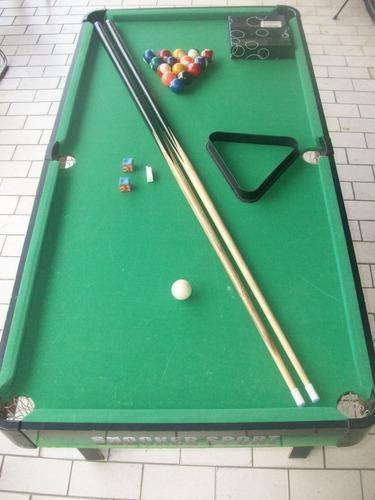 Mesa pool semi profesional importada venta garaje negociable