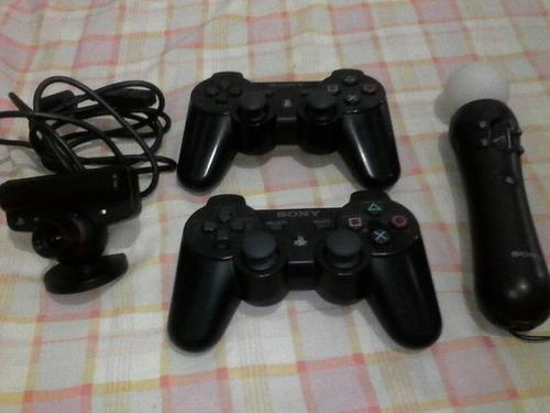 Vendo Combo De Controles Y Juegos De Ps3