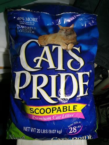 Arena gatos cats pride / 36 dls y tidi cats 9kg/ 18 dls.